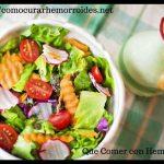 Dieta para Almorranas