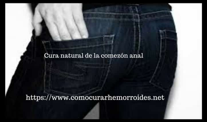 remedio natural prurito anal