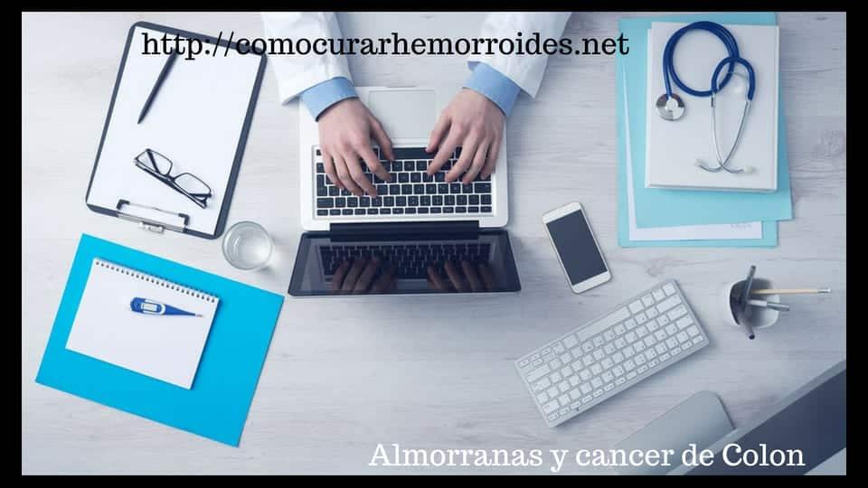 hemorroides y cancer de colon