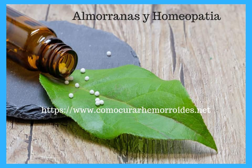 hemorroides y homeopatia