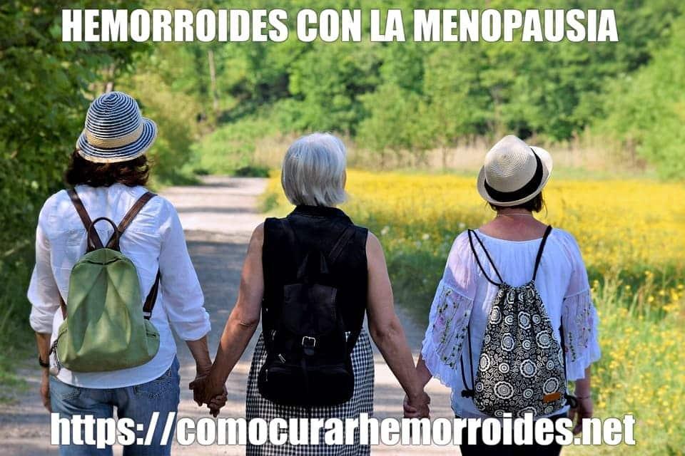 ALMORRANAS EN LA MENOPAUSIA