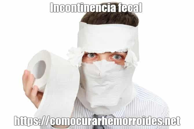 a que se debe la incontinencia fecal